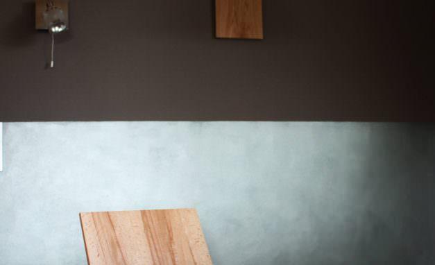 Küche-Metallic-Esstisch