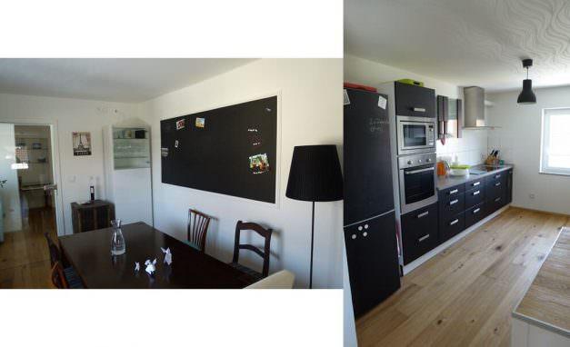 Tafellack-Küche-Memoboard