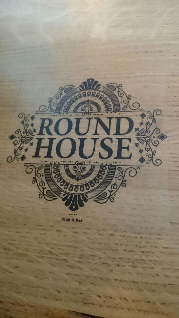 Roundhouse-Theke-Aufkleber