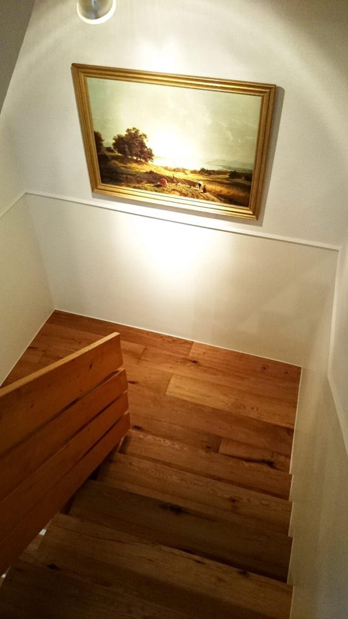 Treppe Podest Parkett