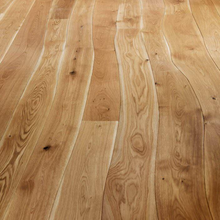 Holz-Diele-geschwungen
