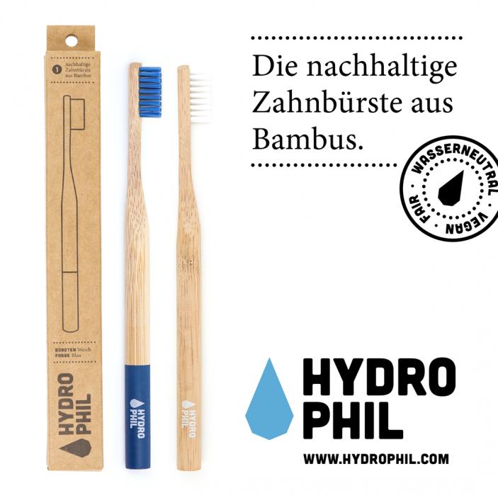 Hydrophil-Bambus-Zahnbürste