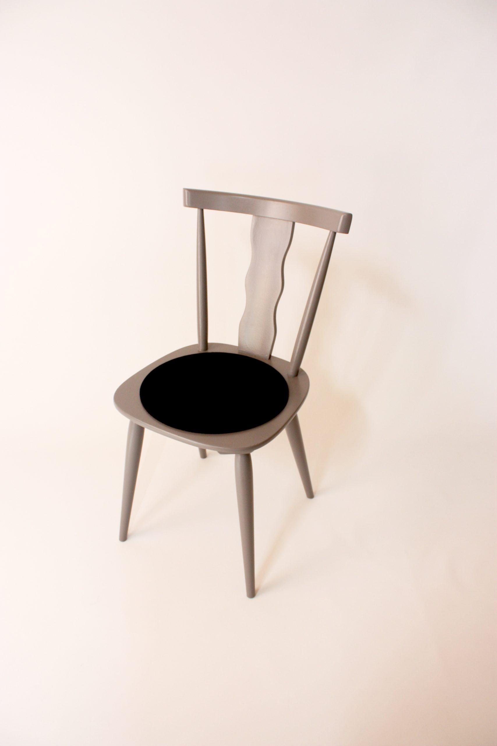 Wirtshaustuhl-grau-filz